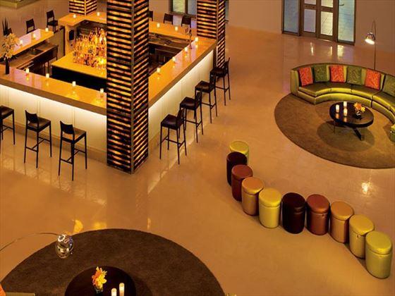 Rendezvous lobby bar at Secrets Silversands Riviera Cancun