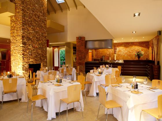 Restaurant at Knysna Hollow Country Estate