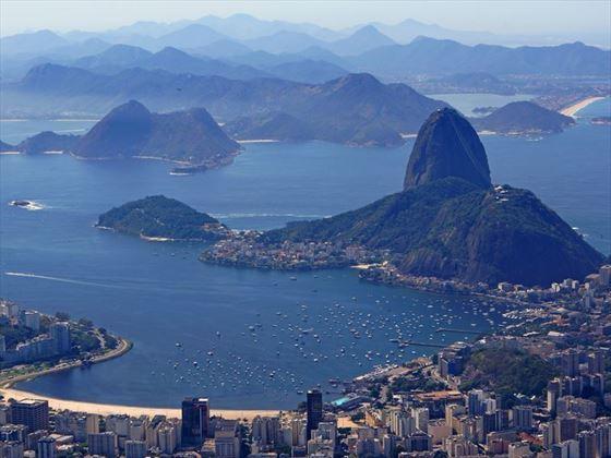Rio de Janeiro view of Sugar loaf