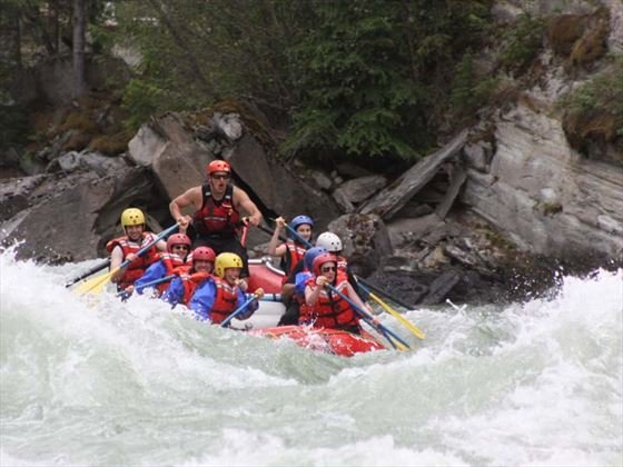 Anyone for river rafting?