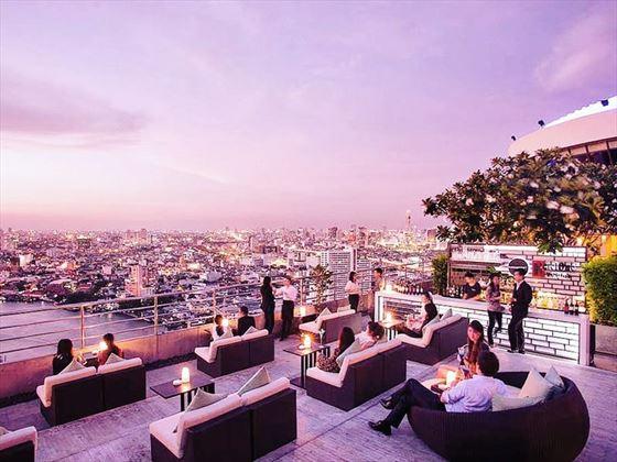 360 Rooftop Bar, Millennium Hilton Bangkok