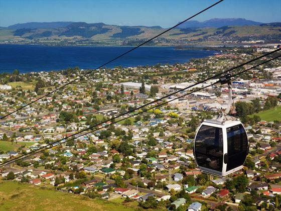 Rotorua skyline