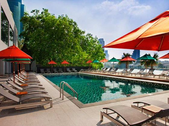 Royal Orchid Sheraton terrace pool