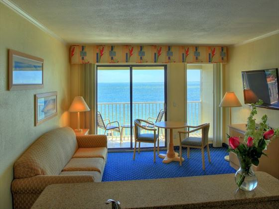 Sailport Waterfront Suites living room