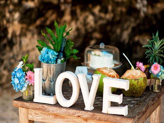 LOve & romance at the Samabe Bali Resort & Villas