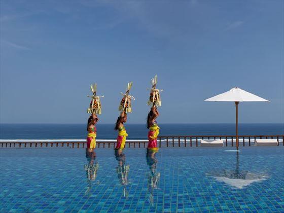 The main pool at Samabe Bali Suites & Villas