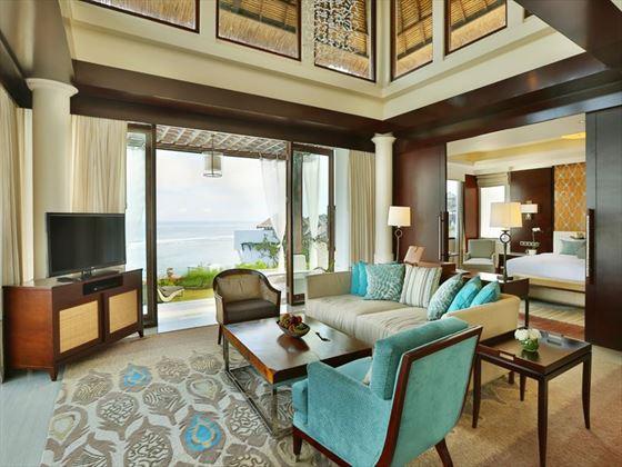 Two Bedroom Ocean Pool Villa at Samabe Bali Suites & Villas