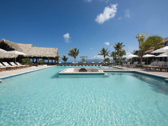 Main pool at Sandals LaSource Grenada