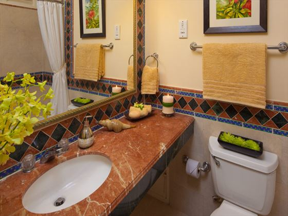 Sandals Montego Bay bathroom