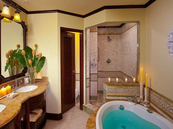 Sandals Negril Beach Resort & Spa Honeymoon Penthouse bathroom