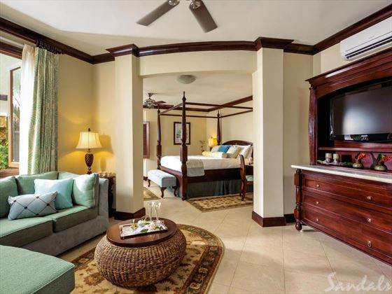 Sandals Negril Beach Resort & Spa, Millionaire Honeymoon One Bedroom Butler Suite with Private Pool Sanctuary