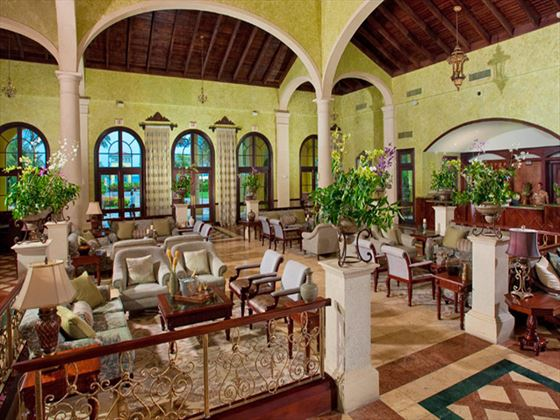 Sandals Whitehouse European Village and Spa lobby