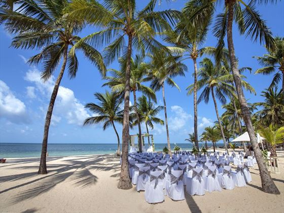 Sandies Tropical Village weddings
