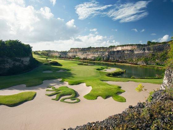 Sandy Lane Green Monkey golf course