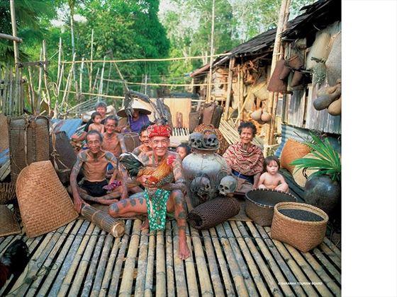 Iban Tribes Sarawak