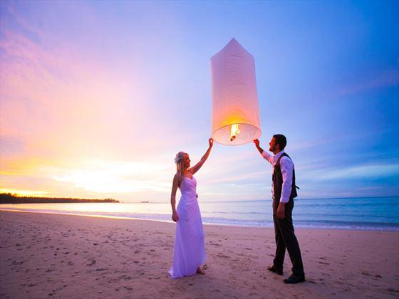 Releasing the Thai lantern