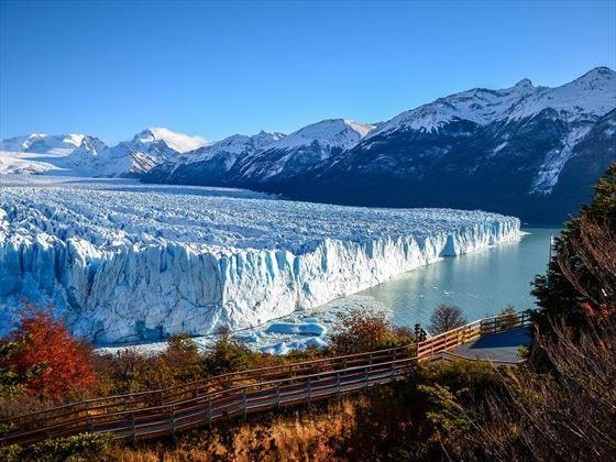 Scenic Perito Moreno Glacier in Argentina