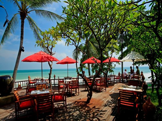 Seabreeze Beach Bar at Centara Grand Beach Resort Samui