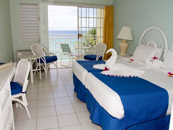 Seaview room at Grenadian by Rex Resorts