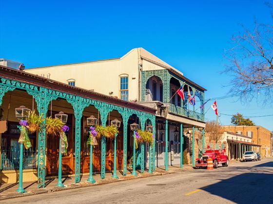 Seville Quarter, downtown Pensacola, Florida