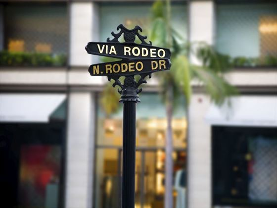 Shopping on Rodeo Drive, Beverly Hills