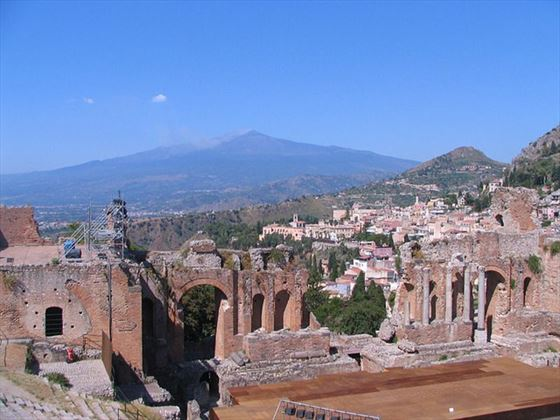 The Greek Theatre at Taormina