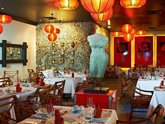Silk Asian restaurant at Coconut Bay Resort & Spa