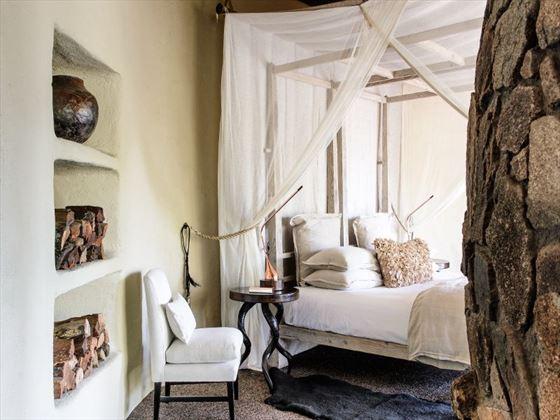 Singita Boulders bedroom