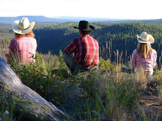 Siwash Lake Wilderness Resort, taking in the sights