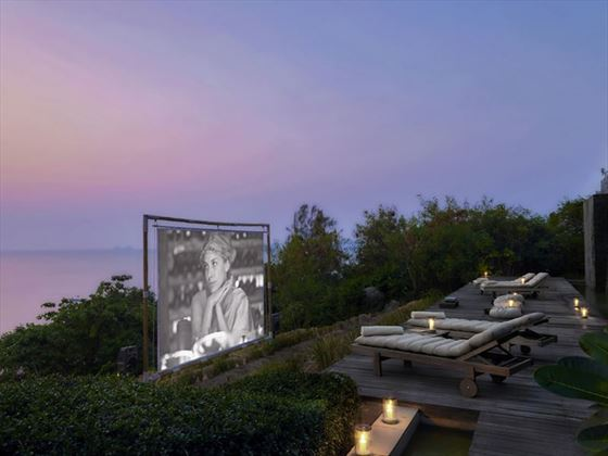 Cinema Paradiso, Outdoor Movies at Six Senses Samui