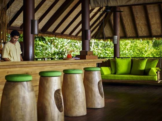 Drinks on the Hill Bar, Six Senses Samui