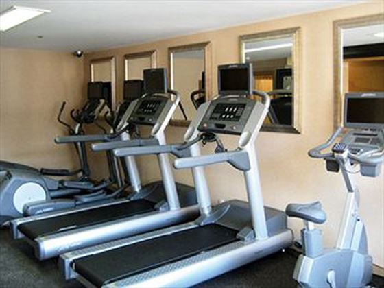 Skyline Hotel Fitness Room