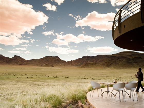 Sossusvlei Desert Lodge views