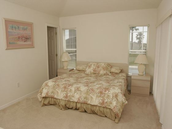 Southern Dunes Executive Home typical bedroom