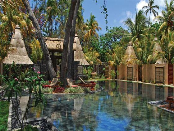 Spa grounds at Shandrani Resort & Spa