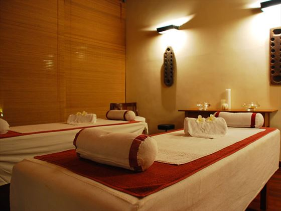 Spa massage room at Jetwing Lighthouse