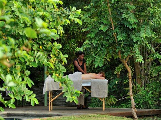 Spa massages at Savanna Lodge
