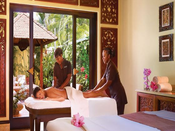Spa treatment at One&Only Ocean Club