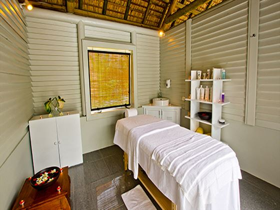 Spa treatment room at Ambre Resort & Spa