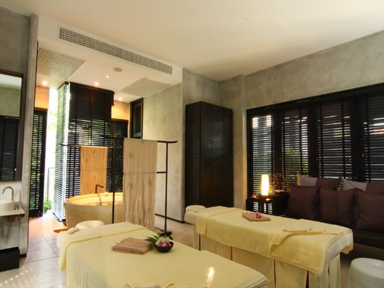Spa treatment room at Dusit Thani Hua Hin