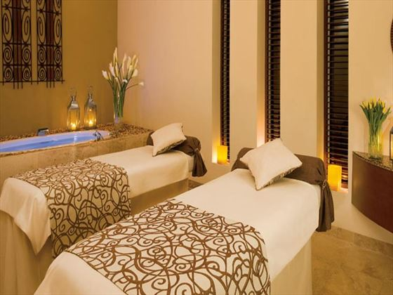 Spa treatment room at Secrets Capri Riviera Cancun