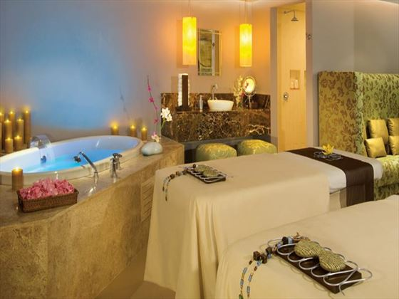 Spa treatment room at Secrets Silversands Riviera Cancun