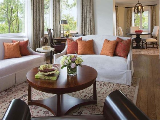 Specialty Suite Living Room, Belmond El Encanto