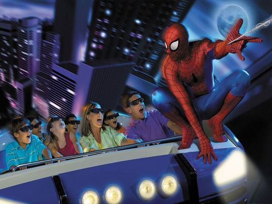 The Amazing Adventures of Spider Man® at Universal's Islands of Adventure®