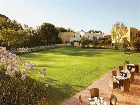 Spier Hotel terrace