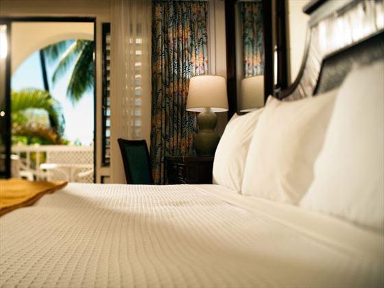 Standard Pool View room at Almond Beach Resort