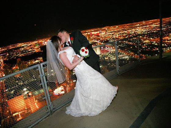 say i do at the top stratosphere hotel american sky