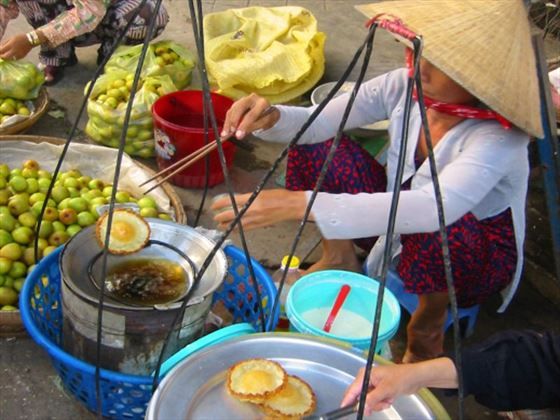 Street food in Saigon, Vietnam