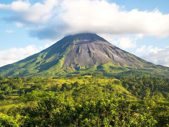 Stunning Views of Arenal Volcano, Costa Rica