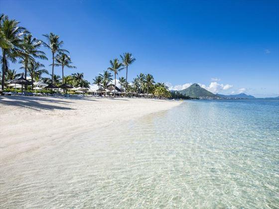 The beach at Sugar Beach Resort & Spa